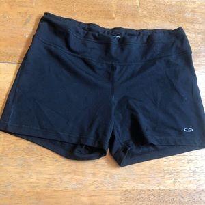 Champion athletic shorts cotton/ spandex Sz L